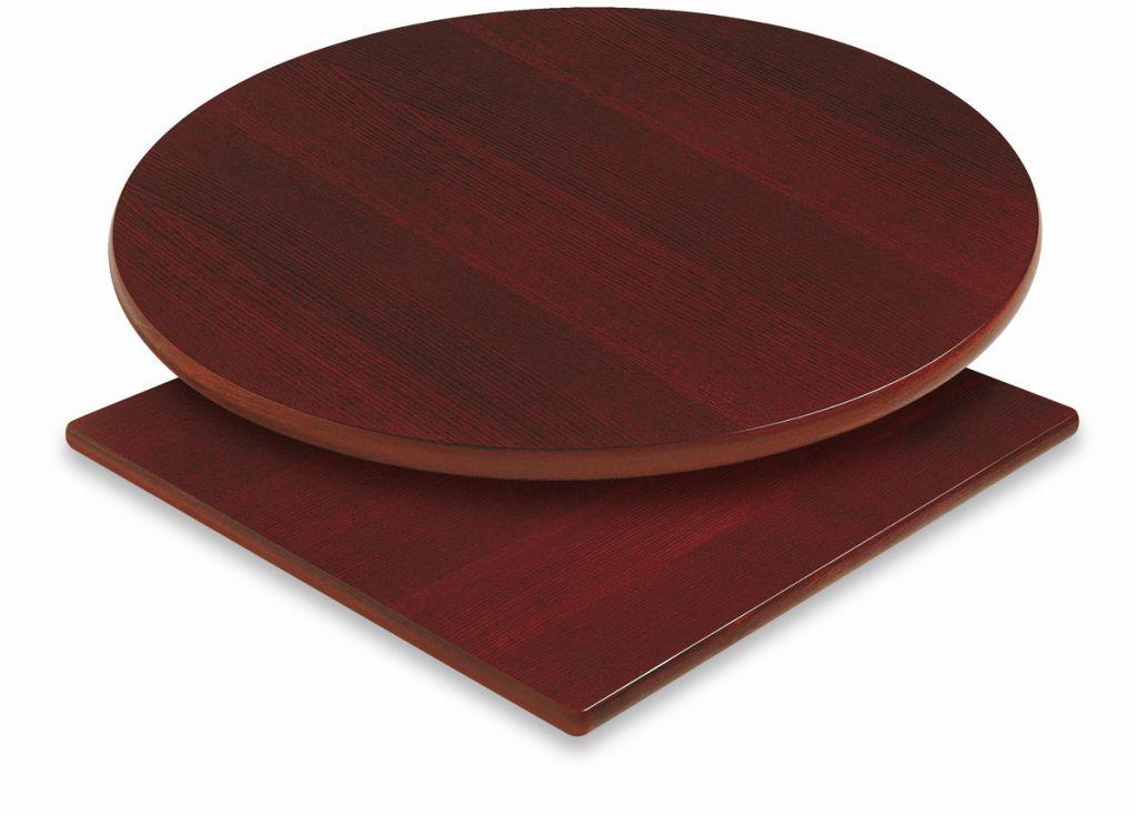 Piano per tavolo in legno impiallacciato for Piano in legno per tavolo