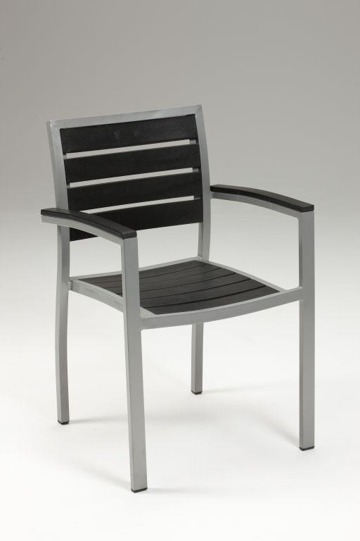 Sedie Da Giardino In Alluminio.Sedia Da Esterno In Alluminio Anodizzato