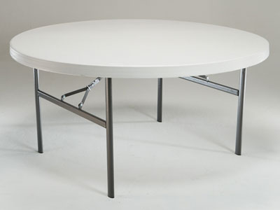 Tavolo da catering rotondo grande - Tavoli rotondi da esterno ...
