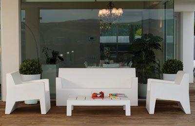 Divani Per Esterni In Plastica : Divani per esterno resina divano moderno da giardino in resina